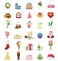 Holidays vector