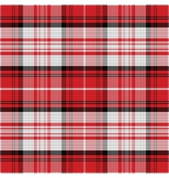 Seamless red pattern scottish tartan vector