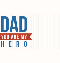 Collection stock of father day style vector