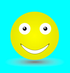 happy face vector image