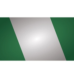 Nigeria flag vector