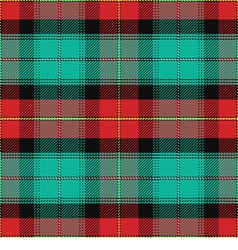 Seamless pattern scottish tartan prince edward isl vector