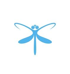 Dragonfly logo vector