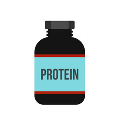 sports nutrition icon flat style vector image