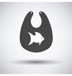 Bib icon vector