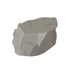 Color background with lump of rock vector