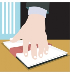 contract vector image