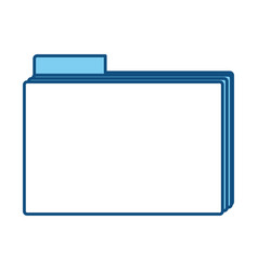 Office folder symbol vector