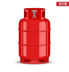 Propane Gas cylinder vector image vector image