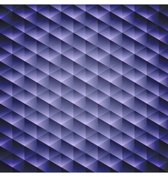 Dark blue geometric cubic background vector