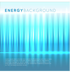 blue energy abstract background vector image vector image