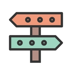 Business direction vector
