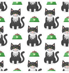 cats heads cute animal funny vector image vector image