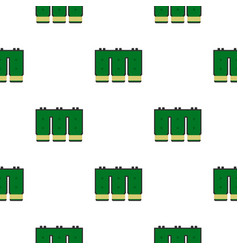 Electronic circuit board pattern flat vector