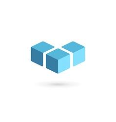 Letter V logo icon design template elements vector image vector image