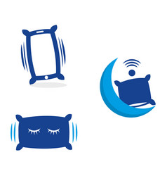 smartpillow vector image
