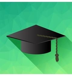 Academic cap vector