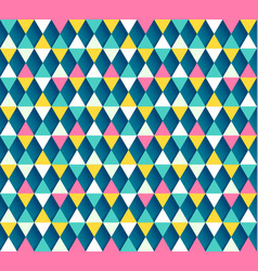 Argyle seamless pattern four color options vector