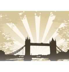 Bridge of london vector