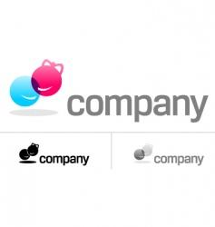 couple logo vector image
