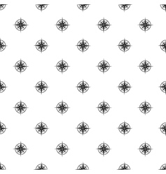 Sign of compass pattern simple style vector