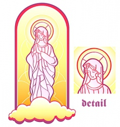 Virgin mary vector