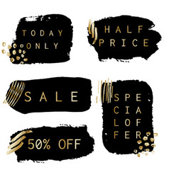 Sale banners collection vector