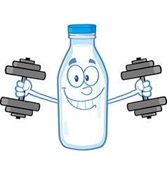 Water bottle cartoon vector