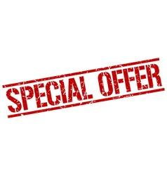 Special offer stamp vector
