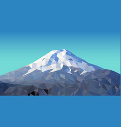 Fuji mountain vector