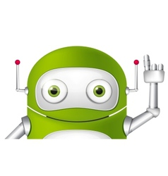 Cartoon character android vector