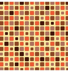 Orange shade tile mosaic background vector
