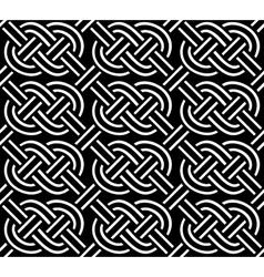 celtic ornament seamless vector image