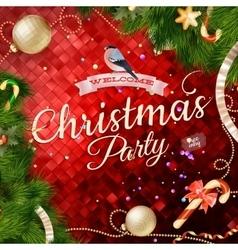 Christmas balls EPS 10 vector image vector image