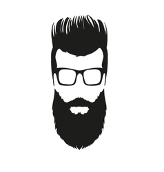 Fashion silhouette hipster style vector image vector image
