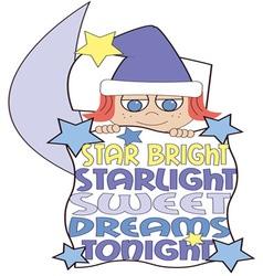 Star bright vector