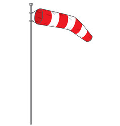 windsock vector image vector image