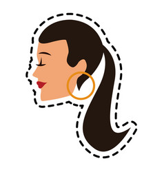 woman icon image vector image