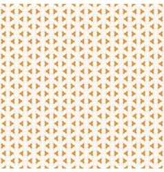 Retro Golden Pattern seamless background vector image