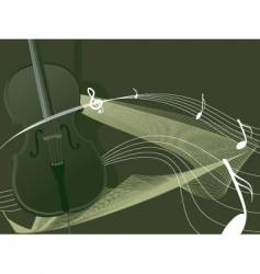 Cello vector