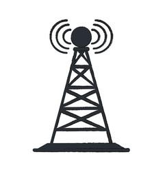 antenna vector image vector image