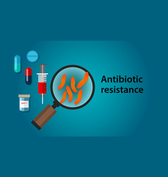Antibiotic resistance of bacteria and vector