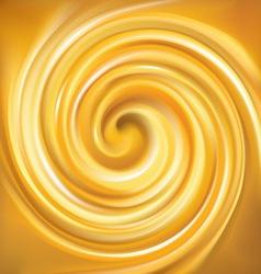 Beautiful curl fluid surface bright hot vector