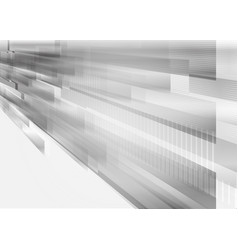rectangular shape and straight line gray vector image vector image