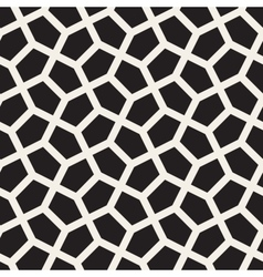 Seamless tessellation geometric pattern vector