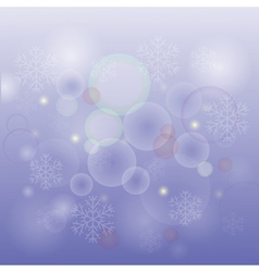 Snow background vector