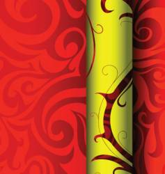 Tribal wallpaper graphic design vector