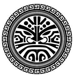 Polynesian tattoo vector image