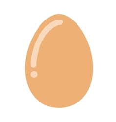 Delicious egg hen isolated icon design vector