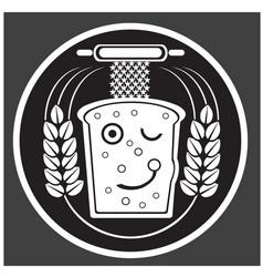 Hand drawn bakery logos badges emblems vector